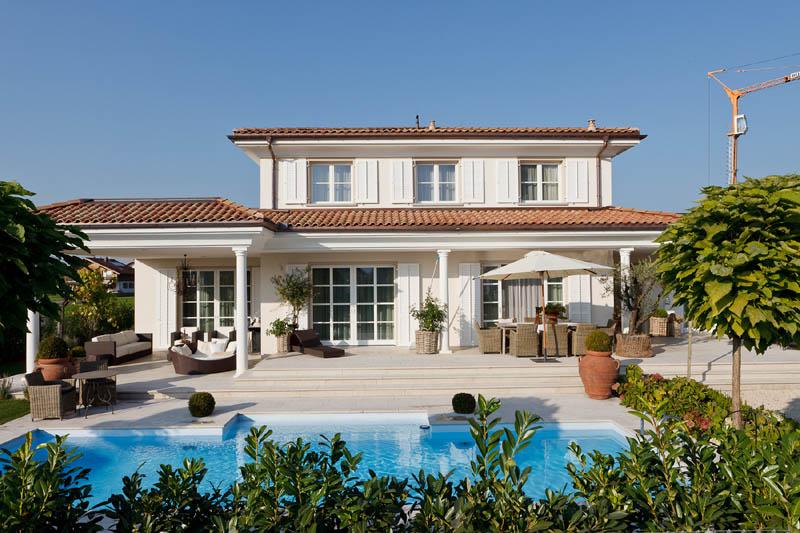 villa in mediterranem baustil in dornbirn vorarlberg. Black Bedroom Furniture Sets. Home Design Ideas