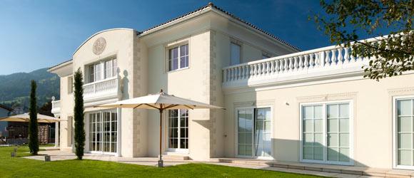 mediterrane villa in rebstein st gallen. Black Bedroom Furniture Sets. Home Design Ideas